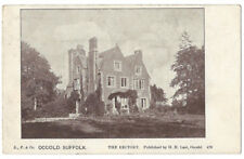 OCCOLD The Rectory, Old Postcard by HH Last, Unused