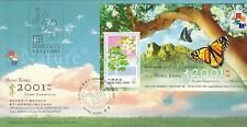 HONG KONG COVER STAMP EXHIBITION (2001)