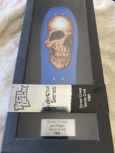 "Tech Deck Collector Series Street Creep Jim Phillips Santa Cruz 1989 11"" Skull"