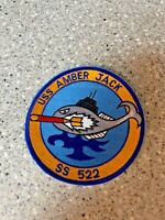 US Navy Patch USS AMBERJACK SS-522 Tench-Class Submarine 4 3/4""