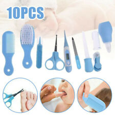 Newborn Baby Grooming Kit Kids Nail Hair Health Care Thermometer Brush 10pcs/Set