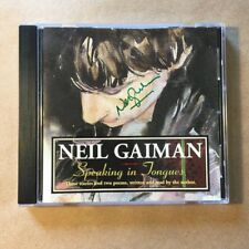 Speaking in Tongues by Neil Gaiman (Signed, Audiobook, CD)