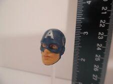 "Marvel Legends captain america head Figure 6"" 1/12 BAF"