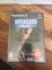 PlayStation 2 PS2 Biohazard Out Break File 2 ntsc/jap/new /neuf