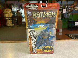 2005 Mattel Batman DC Super Heroes J5151 GRAY BLUE BATMAN S3 Figure MOC