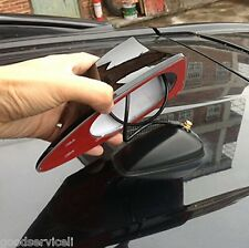 Universal Car Van SUV Auto Roof Shark Fin Antenna Aerial FM/AM RV Radio Signal