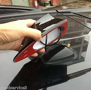 Universal Car Van SUV Auto Roof Shark Fin Antenna Aerial FM/AM RV Radio Signal