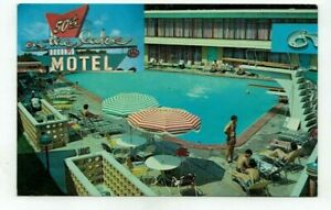 IL Chicago Illinois 1967 vintage post card - 50th on the Lake Motel
