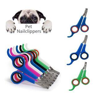 Pet Nail Clipper Animal Scissor Dog Cat Bird Rabbit Claw Cutter Grooming Trimmer