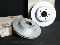 6795755 NEU ORG BMW M Performance Bremsscheiben hinten 324X22MM 3er E92 E93 330d