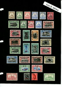 German East Africa On Album Page Nice Group