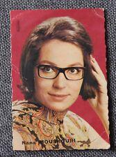 Nana Mouskouri,  mini carte année 60 - originale