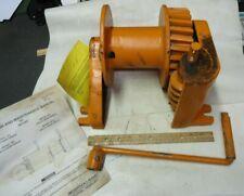 "Beebe Bros Shur-Wurm Winch 1250 Lbs ""New"" Hand Crank Model W7"