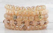 ERIMISH - ROSE GOLD COLLECTION BRACELET STACK Stackable Bracelets New