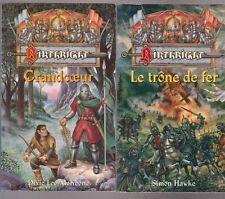 BIRTHRIGHT tomes 1 et 2 Trône de fer Grandcoeur FANTASY roman Simon Hawke