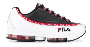 FILA Mens Trainer DSTR 97 Dragster 98 White and Black
