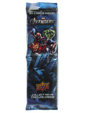 2012 Upper Deck Avengers Trading Cards 30-Card Jumbo Rack Pack Fat Marvel Comics