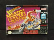 Exertainment Mountain Bike Rally (Super Nintendo) SNES Box Only