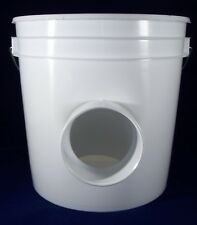 2 Pack - Automatic Chickien Duck Hanging 2 Gal Gravity Feeder-  2 Gal Capacity
