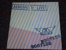 AEROSMITH Japan Import Vinyl LIVE! BOOTLEG 2 LP Japanese OBI Audiophile