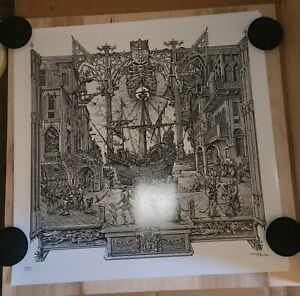 GHOST RATS by ZBIGNIEW BIELAK  Ghost bc 1st run of 25 prints
