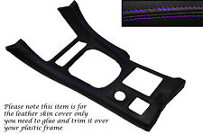 Púrpura Stitch Gear envolvente Cuero Piel tapa se ajusta Mitsubishi Gto 3000gt 92-99