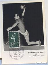 yt 1629   FRANCE CPA Carte Postale Maximm HAND BALL