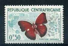 CENTRAFRICAINE 1960, timbre n° 4, papillon , neuf**