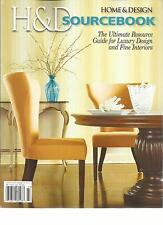 HOME & DESIGN, 2013 ANNUAL SOURCE BOOK,(THE ULTIMATE RESOURCE GUIDE FOR LUXURY