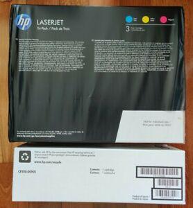 Genuine HP 202X LaserJet Toner Black Cyan Magenta Yellow Set of 4 Factory Sealed