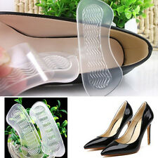 1Pair High Heel Shoes Back Cushion Insole Liner Grip Foot Care Pad Protector New