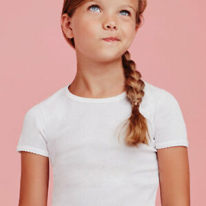 3 T-shirt maglie bambina Ellepi a manica corta in jersey di puro cotone art 4290
