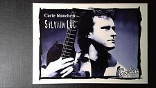 Carte publicitaire 1998 Carte blanche à Sylvain Luc au Sunset jazz club Paris 1°
