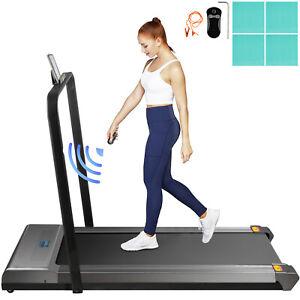 Treadmill, Under Desk Treadmills For Home, Working Treadmills w/ Handrail Indoor