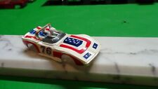 AFX slot car body / corvette sting ray convertible w, driver # 76