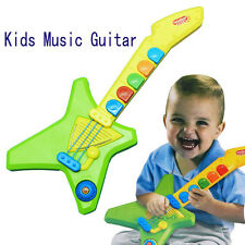 Kids children baby Musician Guitar Toys with Music and Light Battery Operated