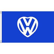 Vw I Love Flag 5Ft X 3Ft Beetle Camper Van Bugjam Festival Banner I Volkswagen