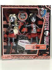 Monster High Doll Werecat Sister Pack Meowlady Purrsephone New in Box Retired