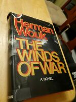 The Winds of War 1971, 1st edition/1st printing, by Herman wouk, hcdj