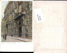534736,Künstler AK Ernst Graner Wien Innere Stadt Finanzministerium pub B.K.W.I