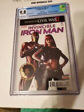 Invincible Iron Man #7 3rd print 1st Riri Williams Key CGC 9.8 NM/M Gorgeous Gem