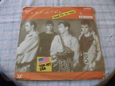 """Real Life Send Me An Angel 7"""" German Curb PS 1983 Super Overall Sound"""