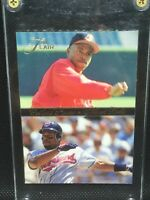1994 Flair Outfield Power Baseball Insert Card #1 Albert Belle Indians STAR MINT