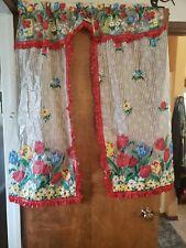 Vintage Plastic Drapes Curtains