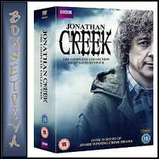 JONATHAN CREEK - COMPLETE COLLECTION SERIES 1 -5 PLUS SPECIALS*** BRAND NEW DVD