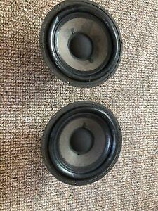 Zwei Scan-Speak 176mm 4ohm Bass-Mittelton Lautsprecher