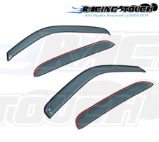 For Mazda Mazda2 11-14 Ash Grey Out-Channel Window Visor Sun Guard 4pcs