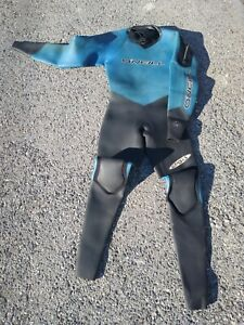 O'NEILL OASIS  DRYSUIT unisex XS Extra Small 3/4mm for cold water excellent cond