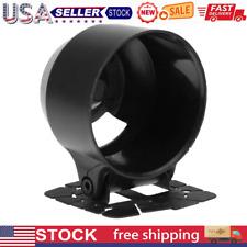 60mm Abs Racing Car Universal Dash Gauge Meter Cup Holder Mount Pod Black