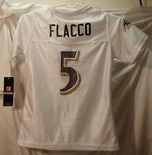 Joe Flacco Baltimore Ravens NFL Football Jersey Girls Youth Size 7/8 Medium